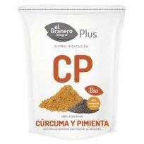Curcuma y pimienta Super alimentos