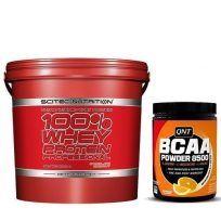 Whey 5kg + BCAAs Gratis