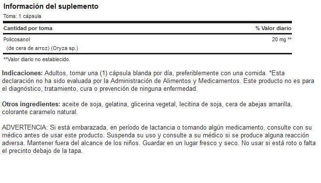 Etiqueta-Policosanol