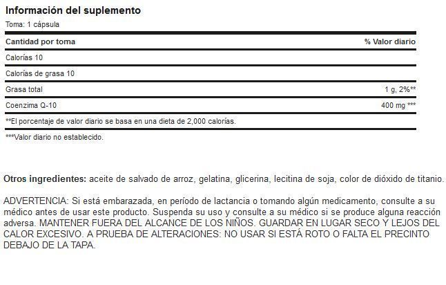 Etiqueta-Q10-400Mg