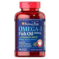 Omega 3 sin mercurio Puritans