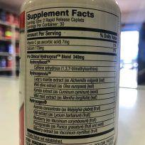 Etiqueta Hydroxycut PRO Clinical