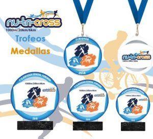 Trofeos y medallas Nutricross 2018