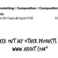 Etiqueta Ubiquinol Hiddit